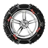 QCYP Snow Chain is Suitable for Ford Fiesta 185/55R15 195/50R16 Automobile Tire Snow Emergency Chain,Fiesta,185/55R15