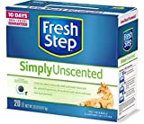 Fresh Step Simply Unscented Litter, Clumping Cat Litter, 20 Pounds (Package May Vary) (Package May Vary)