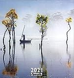 Calendario Zen 2021 – pleno – 30 x 30 cm – Envío el mismo día.