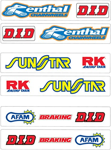 Factory Effex Universal Swingarm Graphics - Renthal/DID Renthal/DID FX04-2426