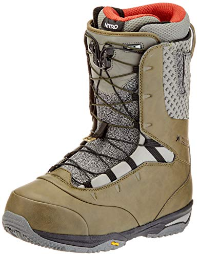 Nitro Snowboards Herren Venture PRO TLS '20 All Mountain Freeride Freestyle Schnellschnürsystem Boot Snowboardboot, 29.5, CO-LAB L1