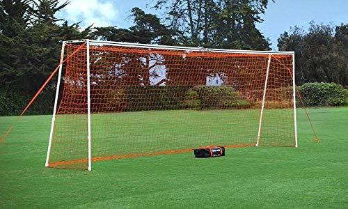 GOLME PRO Training Beach Soccer Goal 7.2x18 Ft. - Full Size Ultra Portable Soccer Net