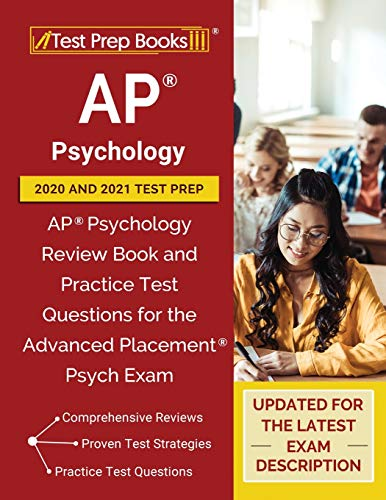 AP Psychology 2020 and 2021 Test Prep: AP Psychology Review Book and...