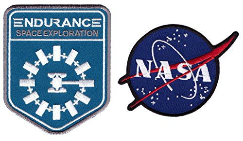 Titan One Europe Set: NASA Interstellar Endurance Conjunto: Logo NASA + Interstellar Endurance Nolan Termoadhesivos
