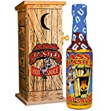 ASS BLASTER Premium Gourmet Hot Sauce Bottle with Outhouse Box - Ultimate Habanero Hot Sauce Gift Set - Perfect for Christmas Gifts for Spicy Food Lovers - Try if you dare!