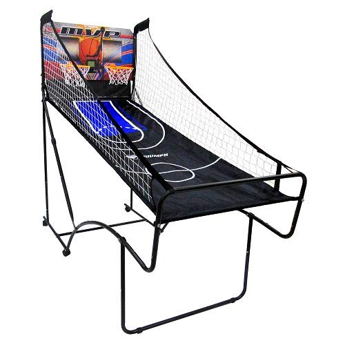 Lowest Prices! TRIUMPH 60 Space Saver 2-Player Basketball with Electronic Scoring