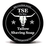 TSE for Men Wicked Shaving Soap with Tallow and Shea Butter. Natural Ingredients for Rich Lather and...