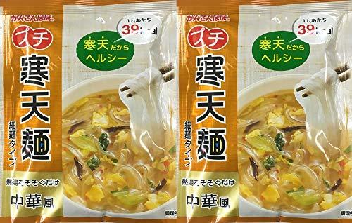 かんてんぱぱ プチ寒天麺 中華風 細麺タイプ 13.4g20袋