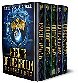 Agents of the Crown (The Complete Series: Books 1-5): An epic fantasy boxed set by [Lindsay Buroker]