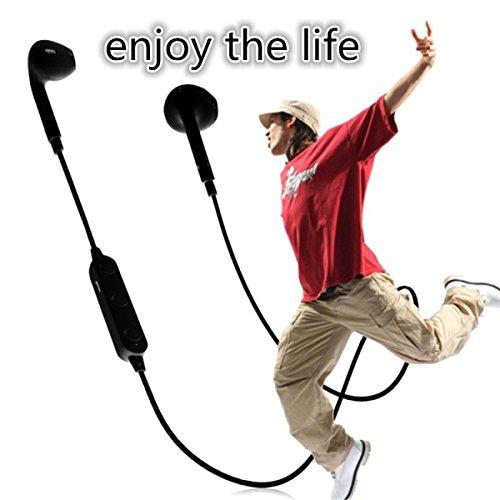 Theoutlettablet® Auriculares In-Ear conexión inalámbrica por Bluetooth HiFi Estéreo Dispone de Micrófono Manos Libres para Smartphone Honor PLK-L01 7 Color Blanco (BT3300)
