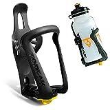 LEORX Borraccia gabbia-Supporto per bicicletta sostenedor di bottiglia di acqua di plastica regolabile universale