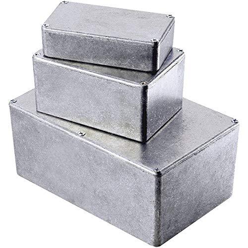1591xxbsbk Negro Genuino Hammond ABS Caja Proyecto Caja 113 X 63 X 28mm