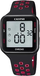 Calypso Reloj Digital para Unisex de Cuarzo con Correa en Pl