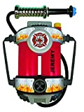 Aeromax, Inc. Personalized Firepower Super Fire Hose with Backpack or Personalized Helmet (Firepower) Red/Black