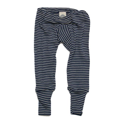 Cosilana Baby Unterhose lang, Gr��e 50/56, Farbe Marine geringelt
