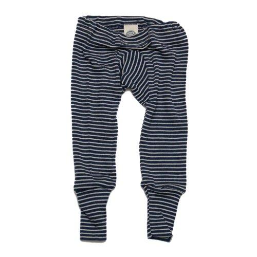 Cosilana Baby Unterhose lang, Gr��e 86/92, Farbe Marine geringelt