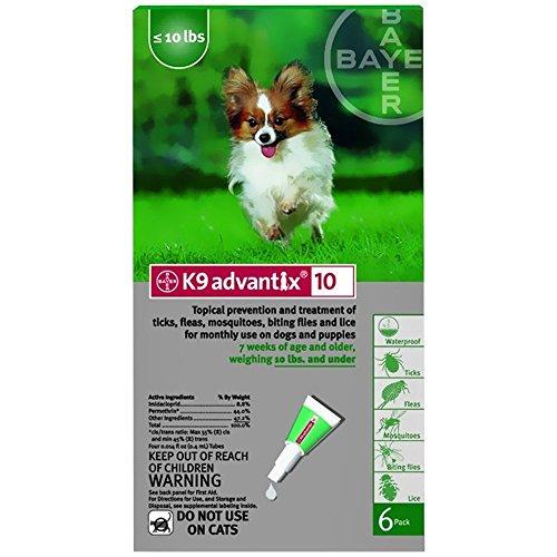 K9 Advantix Small (up to 10 lbs) 6 Pack