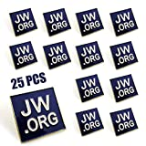 25 Pack JW.org Pins Jehovah Witness Accessories JW Gifts