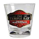 -Whiskey Glass -Collectable -Temple Bar Traditional Irish Whiskey Design -Novelty