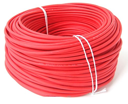KBE Solarkabel 6 mm². 10 lfdm. Farbe Rot. Made in Germany.