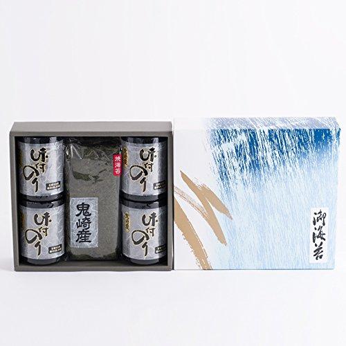 海苔 詰合せ 丸駒産業 愛知県 鬼崎産 味付けのり8切50枚×4本 焼のり8枚×2袋