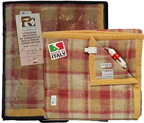 P3 Scaldaletto Termocoperta Coperta Riscaldata Artigianale Matrimoniale Elettrocoperta