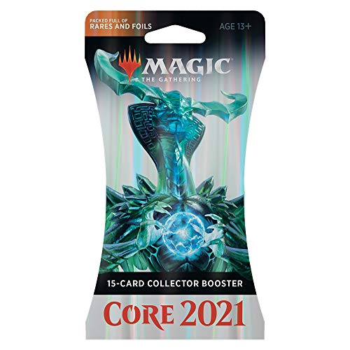 Magic: The Gathering Core Set 2021 (M21) Collector Booster | 15 Cards...