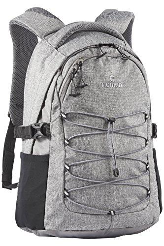 Nomad Express Daypack Rucksack, 45 cm, 20 L, Grey