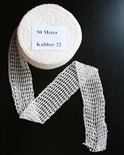 50m Kaliber 22 Bratennetz/Rollbratennetz/Räuchernetz für Einfüllrohr mit einem Durchmesser von ca. 170-180 mm