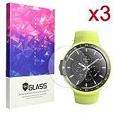 Ceston 9H Panzerglas Displayschutzfolie Für Smartwatch Ticwatch E / Ticwatch S (3 Pack)
