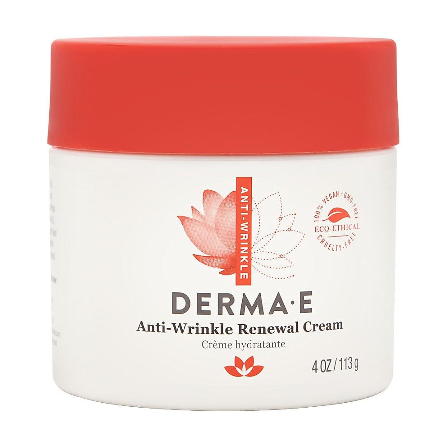 代わりにを立てる間接的君主制Derma E, Anti-Wrinkle Vitamin A Retinyl Palmitate Cream, 4 oz (113 g)