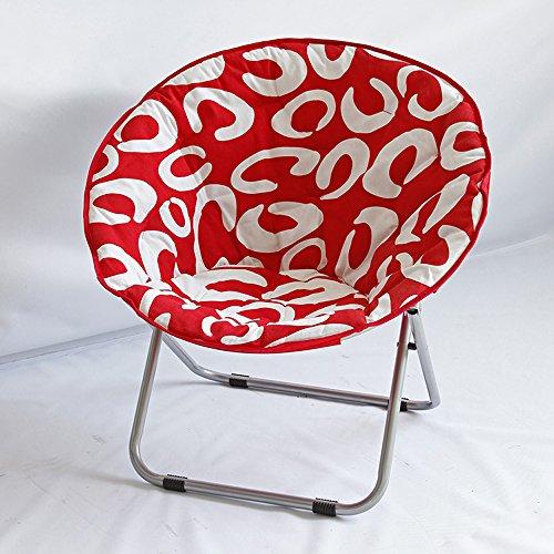 chaise Radar Pliante à Domicile Adultes de Lune Longue Longue Lounge Canapé, Taille: 103 * 105cm (40.5 * 41.3in)
