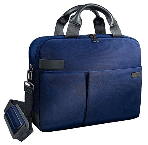 Leitz, Business Laptop-Tasche für 13.3 Zoll Laptop oder Ultrabook, Smart Traveller, Complete, Titan Blau, 60390069