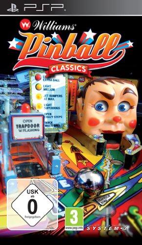 WILLIAMS PINBALL CLASSICS PSP