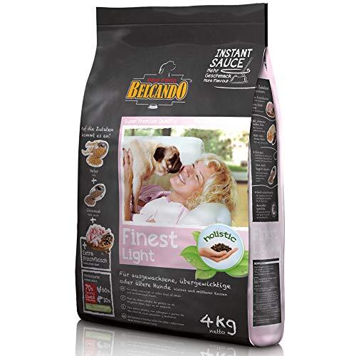 Belcando Finest Light [4 kg] Hundefutter | Trockenfutter für kleine & mittlere übergewichtige Hunde | Alleinfuttermittel für Hunde ab 1 Jahr
