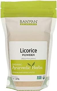 Banyan Botanicals Licorice Root Powder, 1/2 Pound - USDA Organic - Glycyrrhiza glabra - Ayurvedic Herb for Lungs, Skin, Stomach …