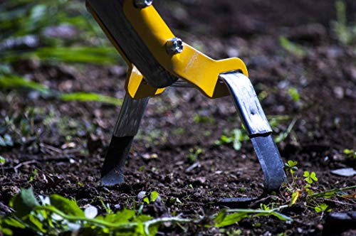 True Temper 2866300 Looped Action Hoe Cultivator with 54 in. Hardwood Handle with Cushion Grip