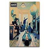 Oasis Definitely Maybe The Debut Album Band Morning Star