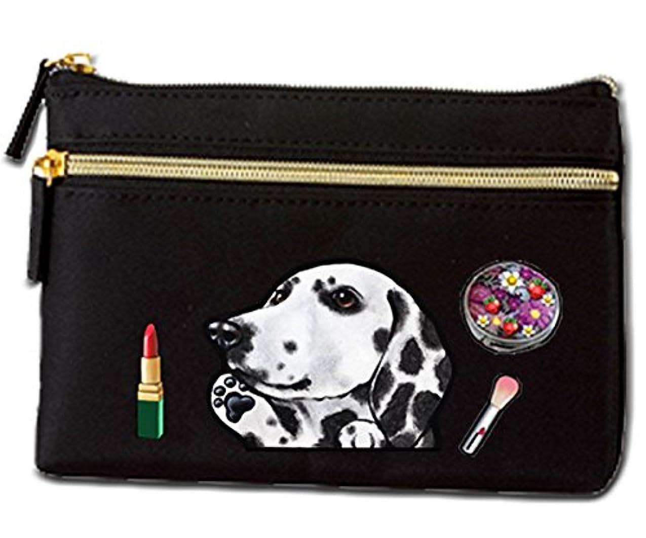 分類ファッション購入犬 ポーチ / ダルメシアン2/雑貨/グッズ/オリジナル