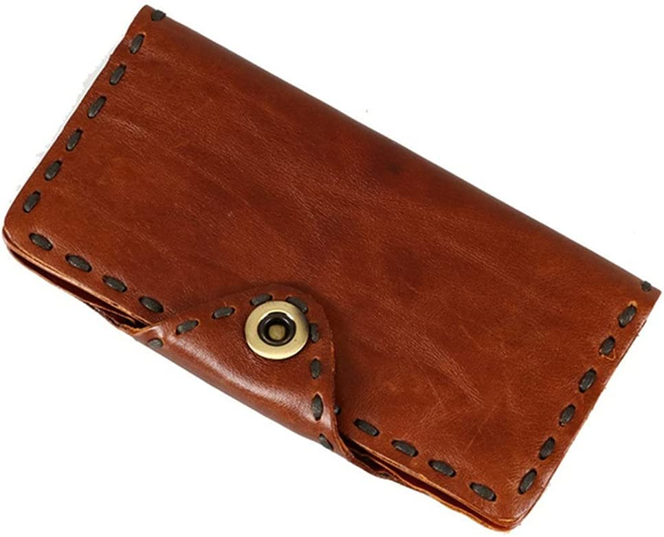 Lingwu Functional Mens Genuine Leather Window Save money Bif Wallet Max 48% OFF ID with