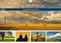 Die Wetterau - Landschaft und Kultur (Wandkalender 2022 DIN A4 quer): Landschaft und kulturelle Highlights in der Wetterau (Monatskalender, 14 Seiten )
