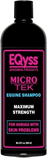 EQyss Micro-Tek Equine Shampoo - Soothes on Contact - Stop Scratching, Itching, and Biting