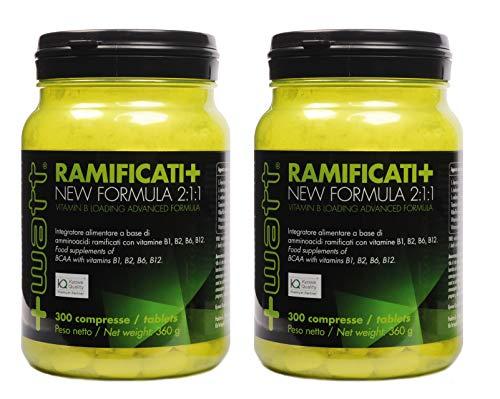 AMINOACIDI RAMIFICATI + New Formula 2:1:1 + vitamine del gruppo B - confezione risparmio da 2 o 4 barattoli da 300 cpr (4)