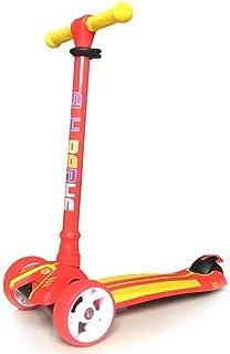 Niños pateando Scooter Scooter para niños, Carretilla Intermitente, Carro resbaladizo, yo-yo, Scooter (Adecuado para 1-12 niños)