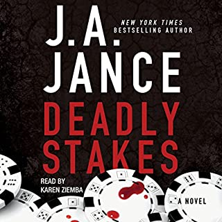 Deadly Stakes audiobook cover art