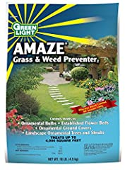 Don't pull weeds - prevent them One application prevents weeds up to 4 months Forms a protective barrier in the soil surface, which prevents weeds from emerging Controls weeds, including Henbit, Prostate Knotweed, Shepherdpurse, Yellow Woodsorrel, Cr...