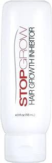 Stop Grow Hair Growth Inhibitor Cream, 4 Fluid Ounce