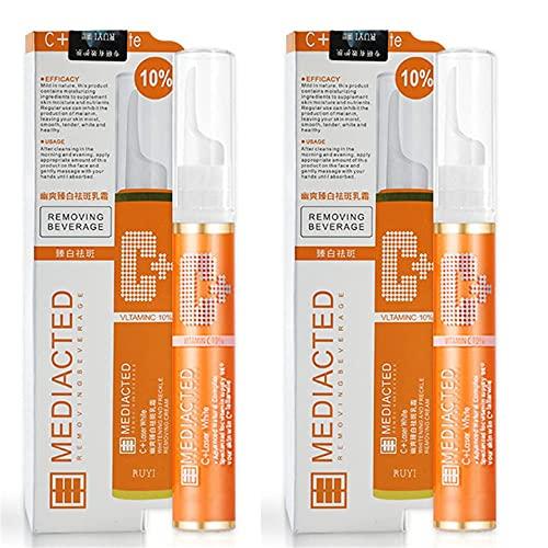 Instant Blemish Removal Gel Vitamin C (2/3 PCS) Serum Brighten Skin Care Cream for Face,Freckle,Repairing Blemish 15ml (2pcs)