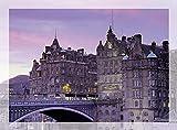 North Bridge & Scotsman Hotel, Edimburgo