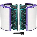 iAmoy Filtro HEPA de Repuesto Compatible con Dyson HP04 TP04 DP04 Pure Cool Purifier Fan & Filtro de carbón Activado Interno